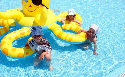 Пираты в бассейне Сезона