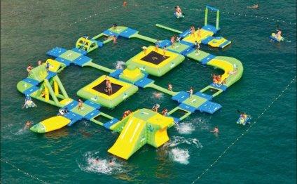 Классные надувные аквапарки