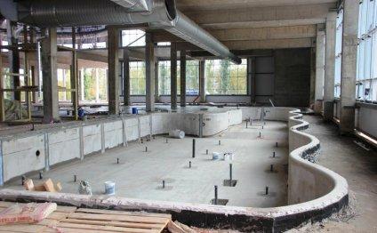 Строительство аквапарка в