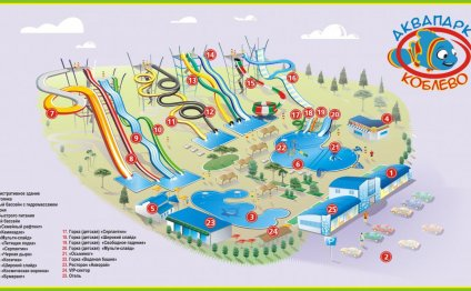 аквапарк план